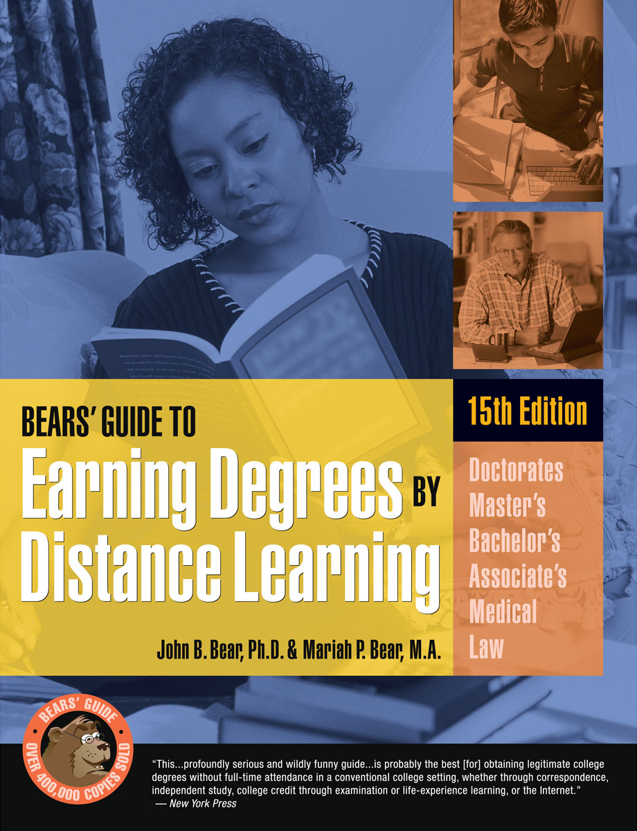 Download Bears Guide to Earning Degrees by Distance ...